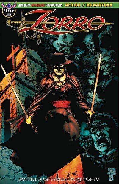 Zorro – Swords Of Hell #1 (2018)