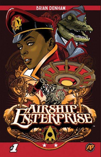 Airship Enterprise #1 – 4 (2015-2017)