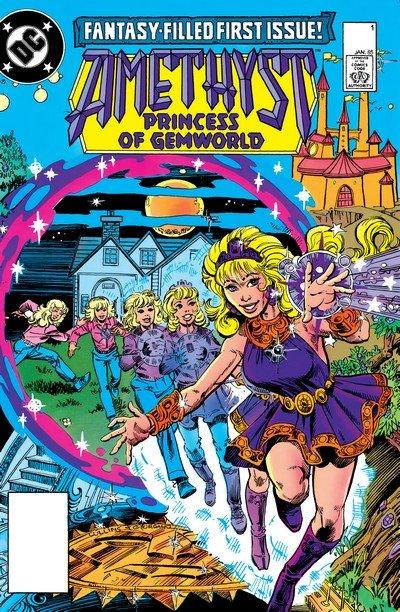 Amethyst – Princess of Gemworld Vol. 2 #1 – 16 (1985-1986)