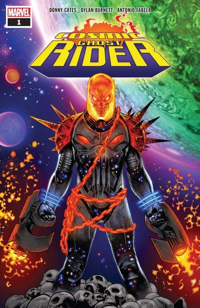 Cosmic Ghost Rider #1 – 5 (2018)