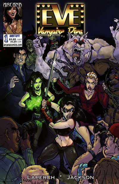 Eve – Vampire Diva #1 – 4 (2007-2008)