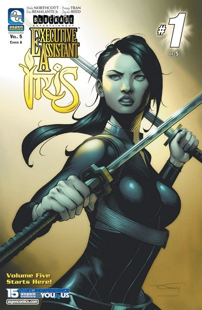 Executive Assistant – Iris Vol. 5 #1 – 5 (2018)