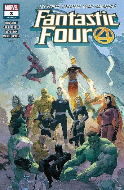 Fantastic Four #3 (2018)