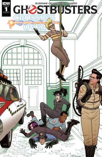 Ghostbusters – Crossing Over #1 – 8 (2018)