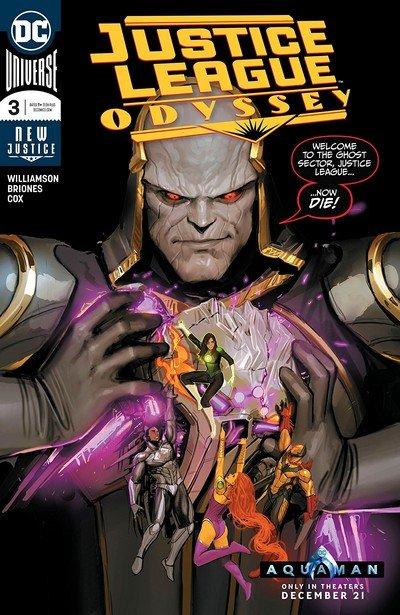 Justice League Odyssey #3 (2018)