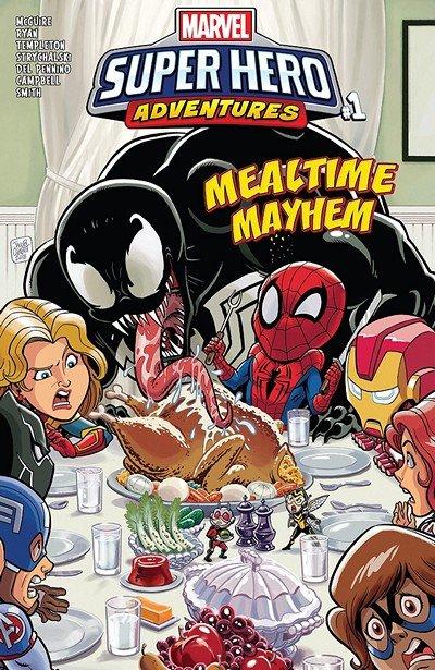 Marvel Super Hero Adventures – Captain Marvel – Mealtime Mayhem #1 (2018)