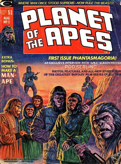 Planet of the Apes Magazine #1 – 29 (1974-1977)