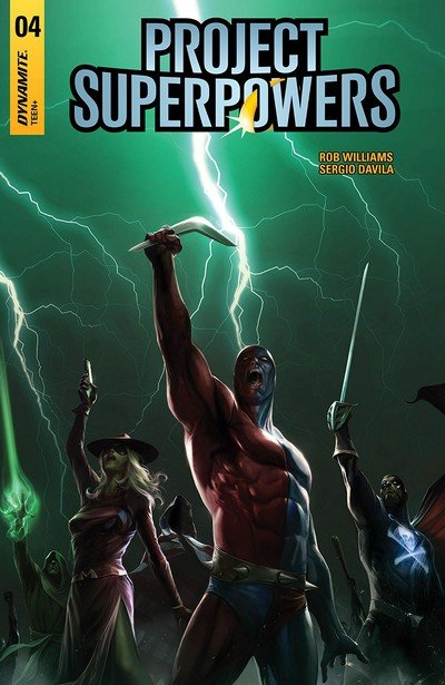 Project Superpowers Vol. 2 #4 (2018)