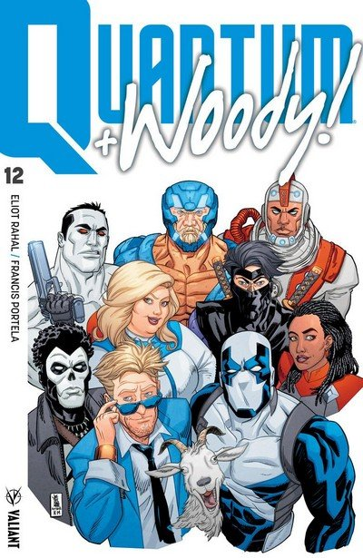 Quantum And Woody #12 (2018)