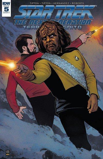 Star Trek – The Next Generation – Terra Incognita #5 (2018)