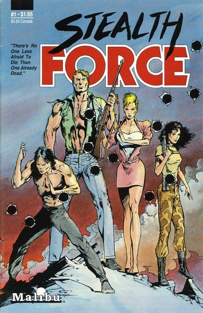 Stealth Force #1 – 8 (1987-1988)