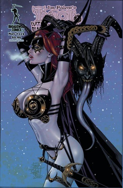 Tarot – Witch of the Black Rose #113 (2018)