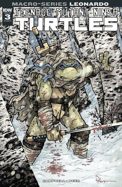 Teenage Mutant Ninja Turtles – Macroseries #3 – Leonardo (2018)