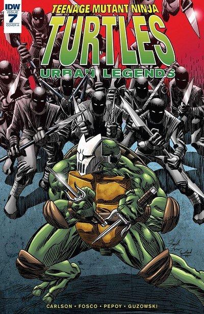 Teenage Mutant Ninja Turtles – Urban Legends #7 (2018)