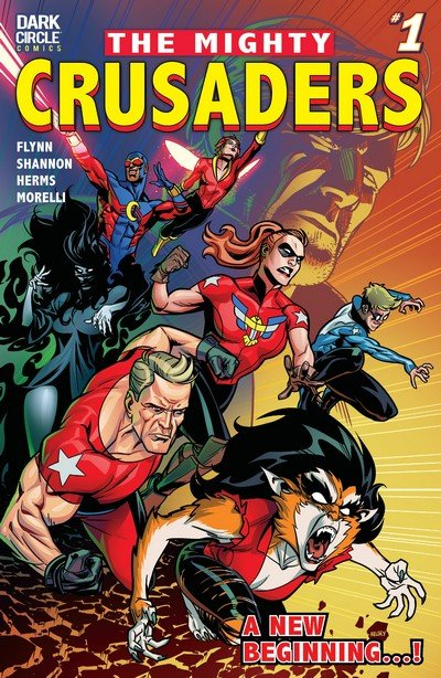 The Mighty Crusaders #1 – 4 (2018)