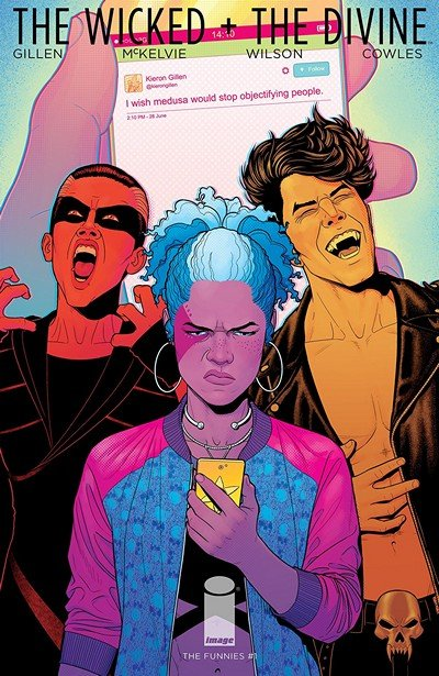 The Wicked + The Divine – The Funnies #1 (2018) (One Shot)