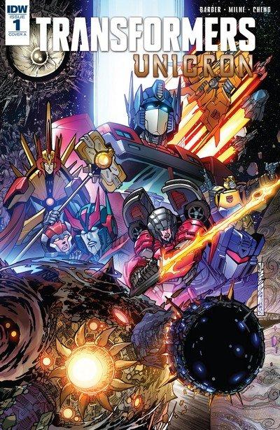 Transformers – Unicron #1 – 6 (2018)