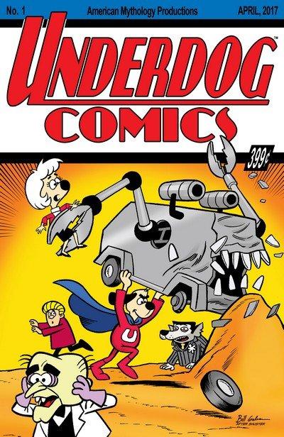 Underdog #1 – 4 (2017-2018)