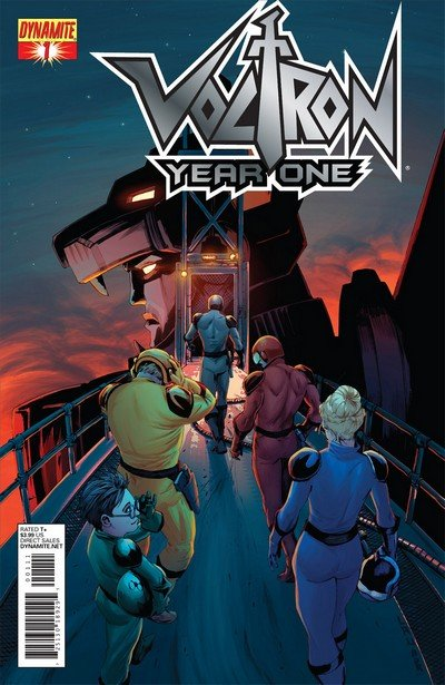 Voltron – Year One #1 – 6 (2012)