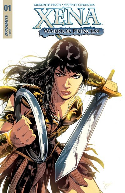 Xena – Warrior Princess Vol. 4 #1 – 10 + TPB (2018)