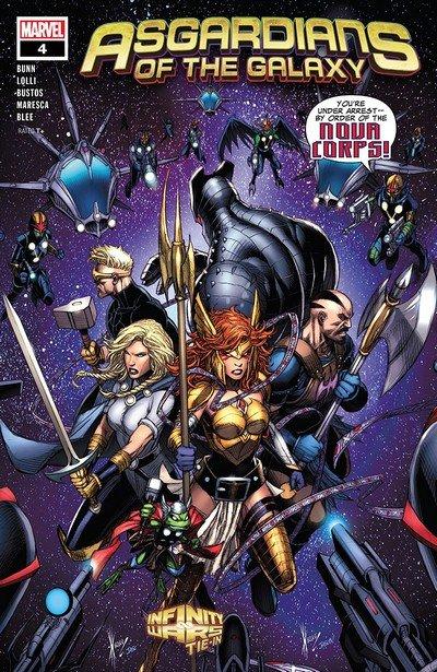 Asgardians Of The Galaxy #4 (2018)