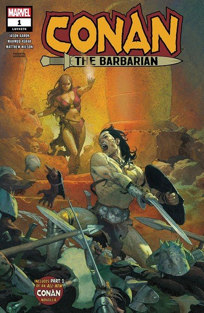 Conan The Barbarian #1 (2019)