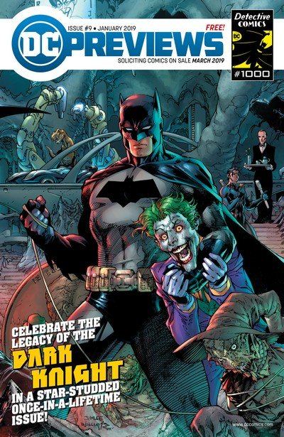 DC Previews #9 (Jan 2019 for March 2019)
