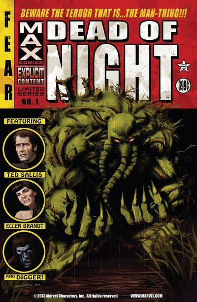 Dead of Night Featuring Man-Thing #1 – 4 (2008)