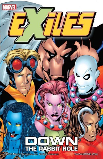 Exiles Vol. 1 – 16 (TPB) (2007-2016)