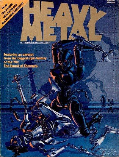 Heavy Metal Magazine #1 – 292 + Extras (Collection) (1977-2018)