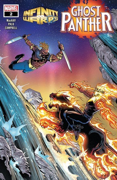 Infinity Wars – Ghost Panther #2 (2018)