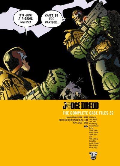 Judge Dredd – The Complete Case Files Vol. 32 (2018)