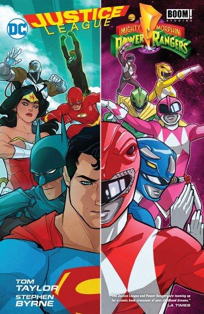 Justice League – Power Rangers (TPB) (2017)