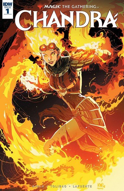 Magic – The Gathering – Chandra #1 (2018)