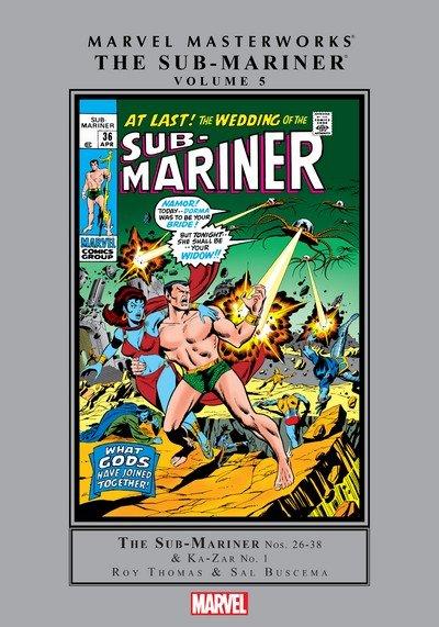 Marvel Masterworks – The Sub-Mariner Vol. 5 (2014)