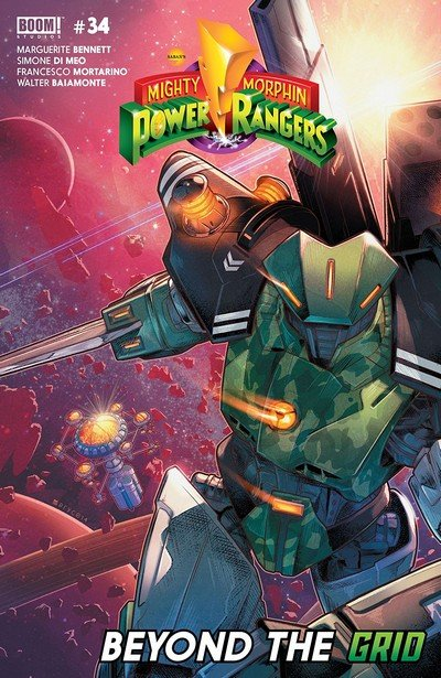 Mighty Morphin Power Rangers #34 (2018)