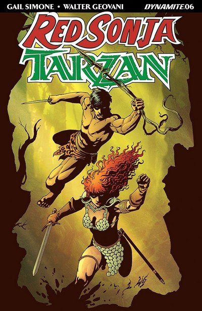 Red Sonja – Tarzan #6 (2018)