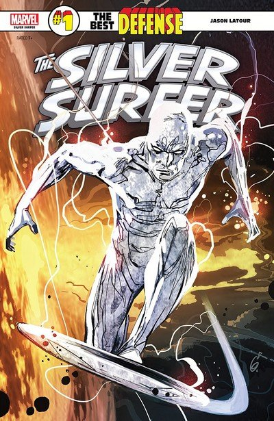 Silver Surfer – The Best Defense #1 (2018)