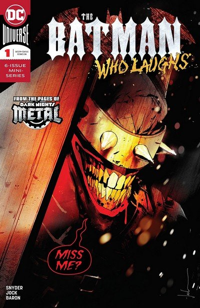 The Batman Who Laughs #1 (2018)