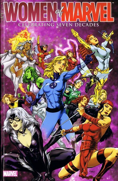 Women of Marvel – Celebrating Seven Decades Handbook (2010)