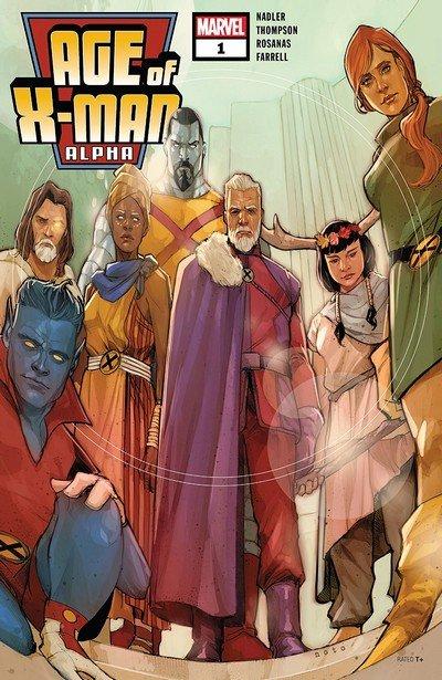 Age Of X-Man Alpha #1 (2019)
