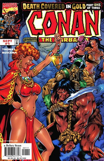 Conan – Death Covered in Gold #1 – 3 (1999)