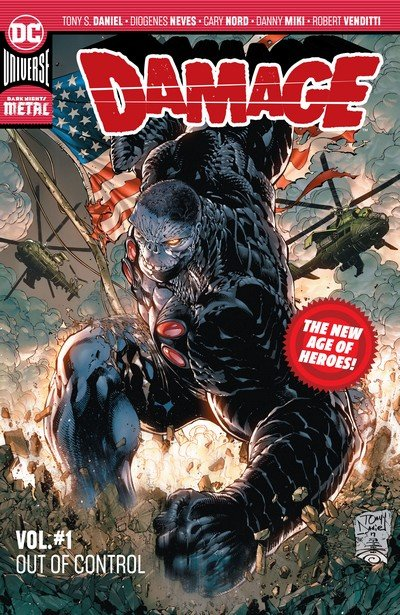 Damage Vol. 1 – Out of Control (TPB) (2018)