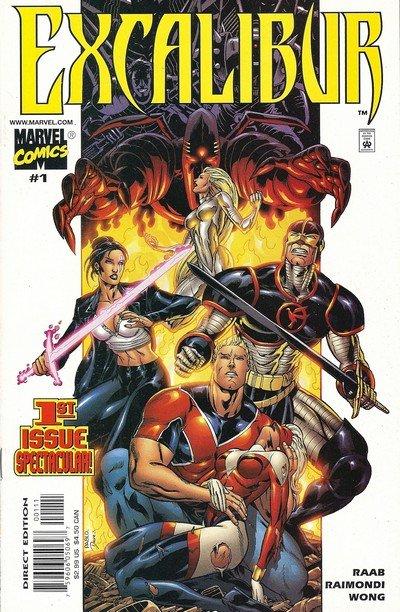 Excalibur Vol. 2 #1 – 4 (2001)