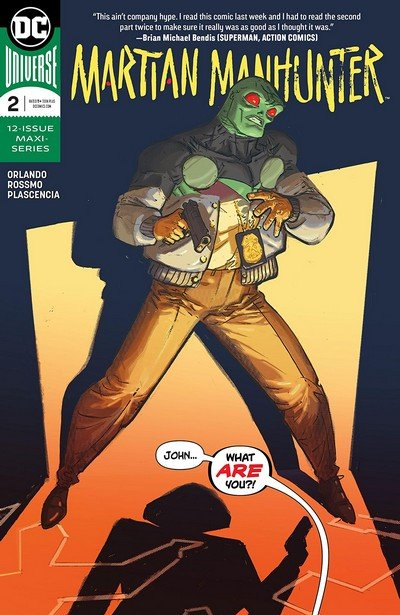 Martian Manhunter #2 (2019)