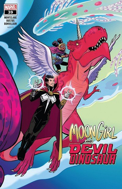 Moon Girl And Devil Dinosaur #39 (2019)