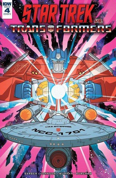 Star Trek vs. Transformers #4 (2019)