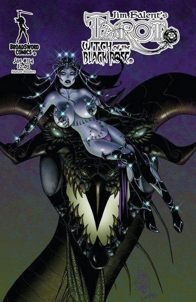 Tarot – Witch of the Black Rose #114 (2019)