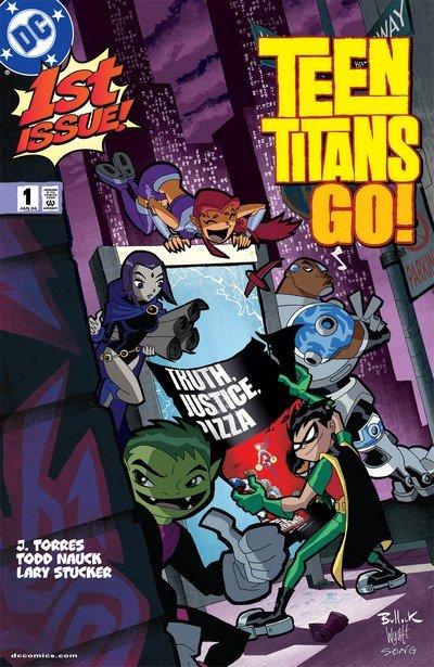 Teen Titans Go! #1 – 55 (2004-2008)