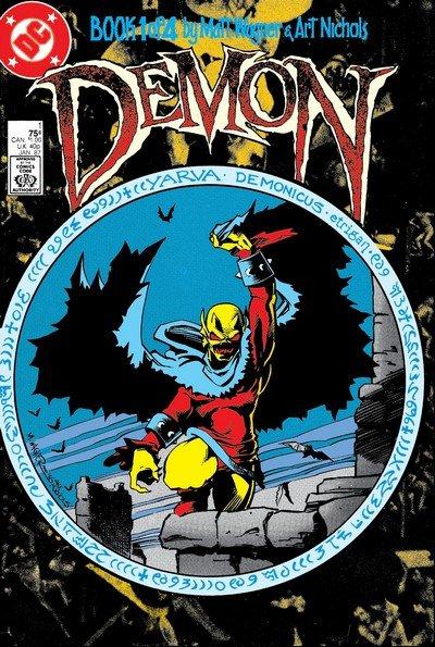 The Demon Vol. 2 #1 – 4 (1987)